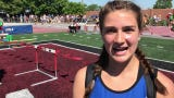 Senior Isabelle Albers talks about her vault of 11 feet, 6 inches that earned her a fifth-place finish at state and a Foley school record Saturday.