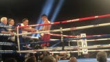 Former Wolf Pack boxer J.J. Mariano scored a fourth-round TKO in his pro debut Saturday night.