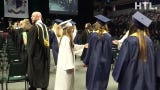South Lyon High's June 8 class of 2019 graduation processional at EMU's Convocation Center.