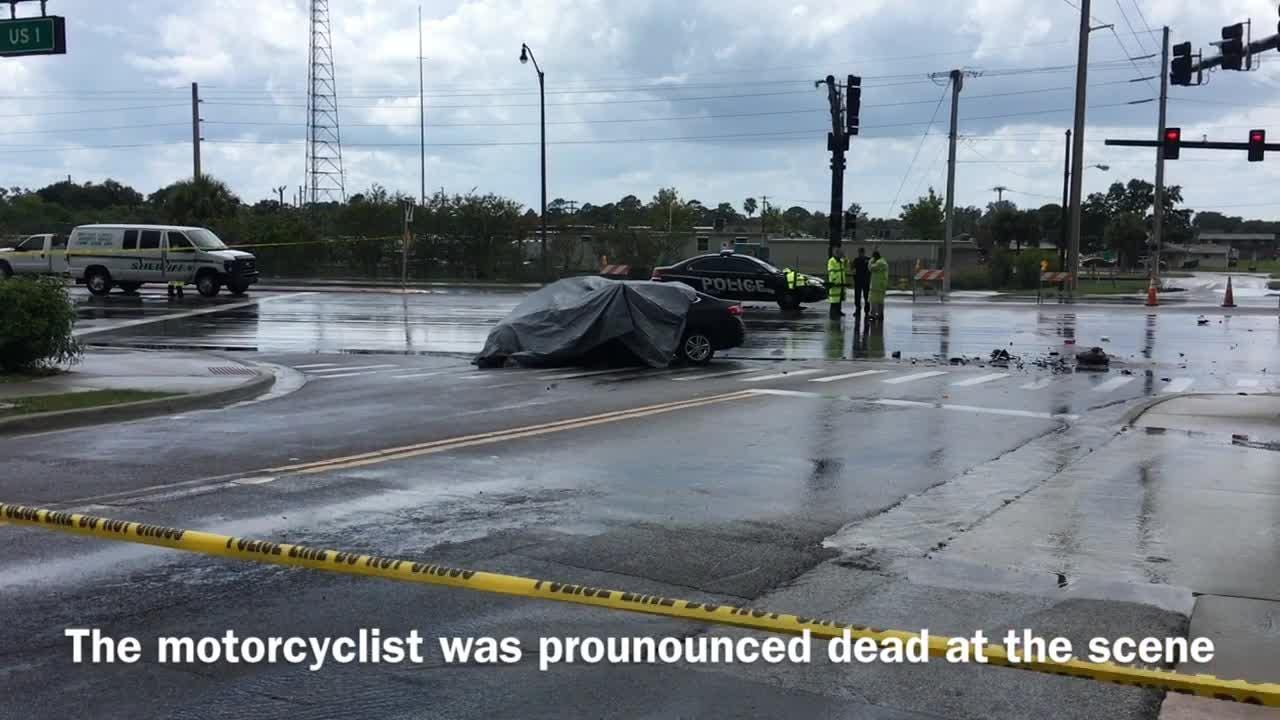 Fatal motorcycle accident in Cocoa