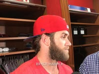 Bryce Harper on why he tried to steal home
