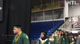 The final class of Farmington Harrison High graduates on June 9, 2019