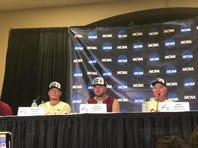 Watch it: FSU players discuss the 5-4 win over LSU to advance to the College World Series