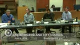 Here's the exchange from the Bainbridge Island City Council's June 4 meeting: