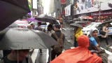 Video of the scene after a helicopter crashed in a Midtown Manhattan building.