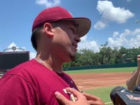 Watch it: FSU reliever Antonio Velez on his performance vs. LSU and the CWS