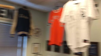 Jim Eakland is the curator of the Logan Hurlbert Hall of Fame Room at Centene Stadium.