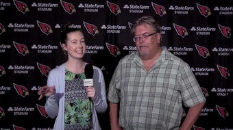 Cardinals Insiders Katherine Fitzgerald and Bob McManaman report from mini-camp on Tuesday.