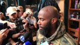Malcolm Jenkins and Lane Johnson were among the veterans taking part in the Eagles' minicamp after skipping the organized team activities.