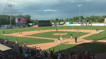 Drew Bonlander's game-winning hit to advance Fond du Lac to the Division 1 semifinal