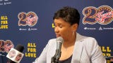 Indiana Fever head coach Pokey Chatman discusses teams second straight home loss against the Seattle Storm.