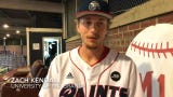 The Paints defeated the Champion City Kings 17-0 on Tuesday as Gavin Homer had a big day at the plate and Zach Kendall was dominant on the mound.