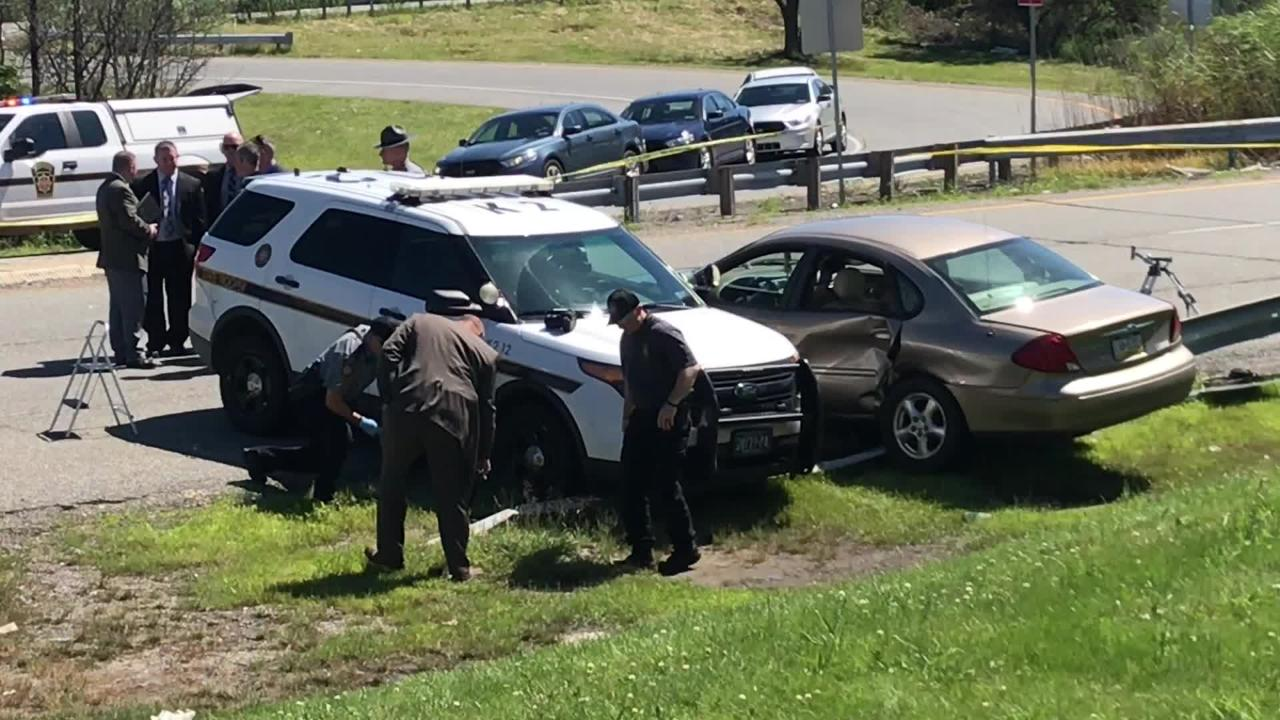 PA state trooper shoots fleeing driver after chase