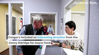 With just days left until the Jackson mayoral runoff election Scott Conger and Jerry Woods campaign finances reveal donor list