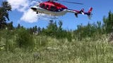 A hiker was injured Wednesday on the Arthur's Rock trail in Lory State Park.