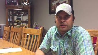 Farmer Jon Miller talks about how heavy rain is hurting the planting season.