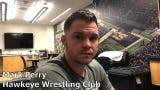 Hawkeye Wrestling Club's Mark Perry discusses competing against his brother Chris