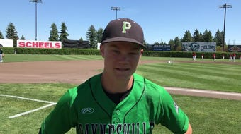 Paynesville right-hander Grady Fuchs talks about the Bulldogs' 3-2 victory over Perham in the state Class 2A baseball tournament in St. Cloud.