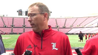With under three months to go before Louisville begins the 2019 against Notre Dame, Cardinals coach Scott Satterfield shared his thoughts on his team.