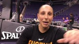 Phoenix Mercury guard Diana Taurasi on her return to non-contact practice during her 37th birthday week