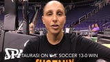 4-time Olympic gold medalist Diana Taurasi on U.S. women's soccer dominance
