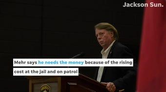 The Madison County Commission wants Sheriff John Mehr to accept a $22.2 million budget but he wants a $25 million budget