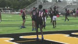 Mississippi Grind delivers plenty of highlight plays during 7-on-7 scrimmage against Lee County All-Stars