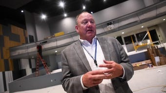 Superintendent highlights auditorium  space in new building