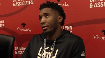 Ex-Louisville standout and current NBA star Donovan Mitchell met fans in Louisville on Friday afternoon.