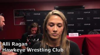 Hawkeye Wrestling Club's Alli Ragan discusses her preparation for Final X.