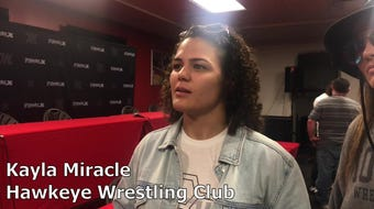 Hawkeye Wrestling Club's Kayla Miracle discusses her preparation for Final X in Lincoln.
