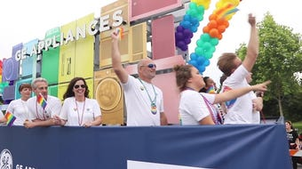 Supporters gathered as the 2019 Kentuckiana Pride Parade hit the streets of Louisville with a message of acceptance and love.