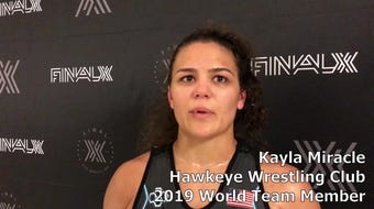 Hawkeye Wrestling Club's Kayla Miracle went to dark places to make the 2019 World Team.
