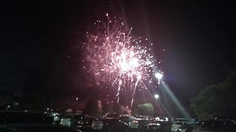 Hundreds came out for Fuse Fireworks' June Boom at Governor's Square Mall on Saturday, June 15, 2019.