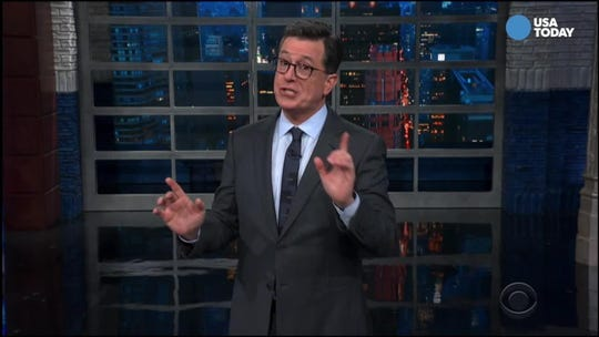 Colbert, Maher mark Trump's birthday and other political activity in Best of Late Night