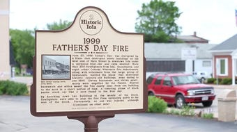 Iola Remembers Downtown Fire