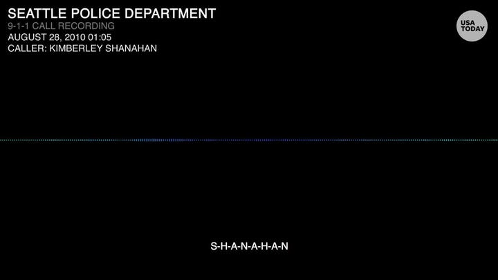 A 911 call recording over a 2010 domestic fight involving acting defense secretary Shanahan; accounts differ on aggressor