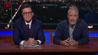 Jon Stewart blasted Mitch McConnell during a special appearance on The Late Show about his lack of action for getting 9/11 first responders help.