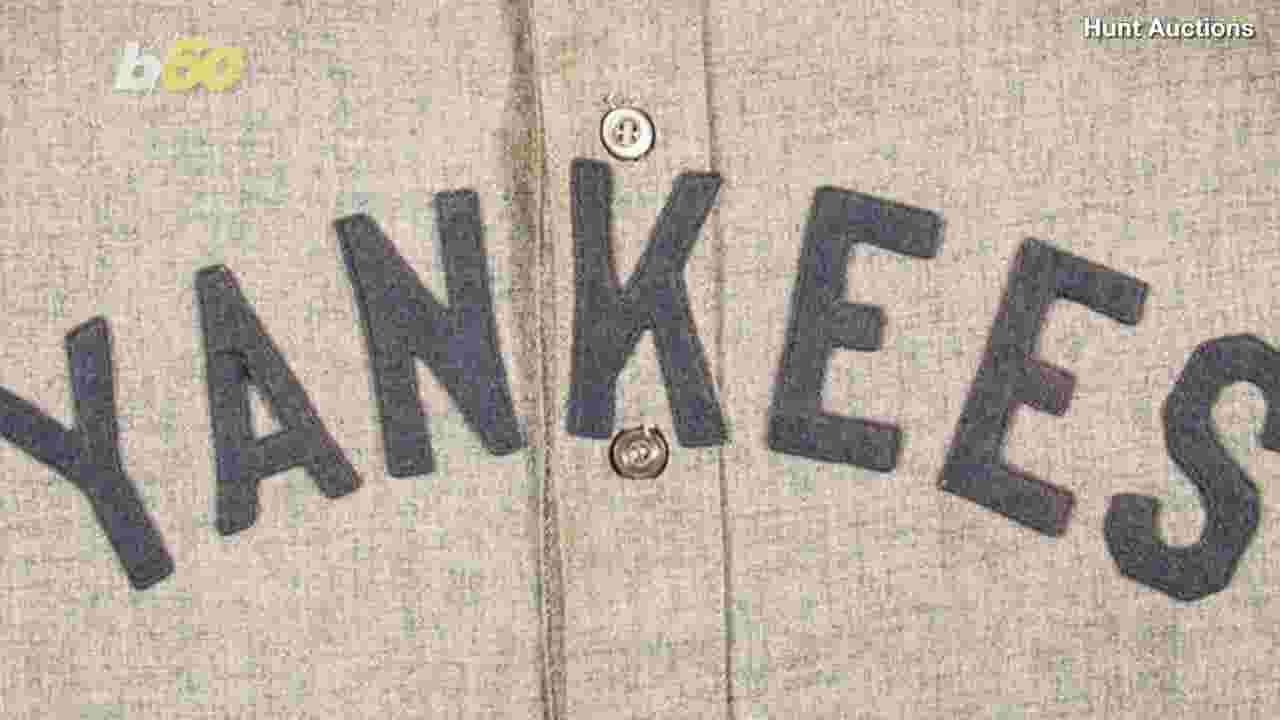2483d23a84e Babe Ruth jersey sells for record $5.64 million at auction