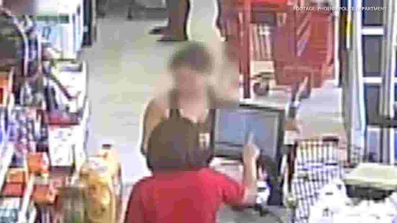 Phoenix police release footage of family in dollar store preceding incident seen in viral video