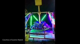 Woman falls off carnival ride in Juarez