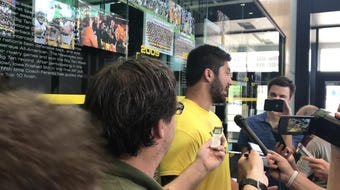 Iowa defensive end A.J. Epenesa has studied last year's Hawkeye starters and knows exactly what trait he would steal from each. Hear what he says: