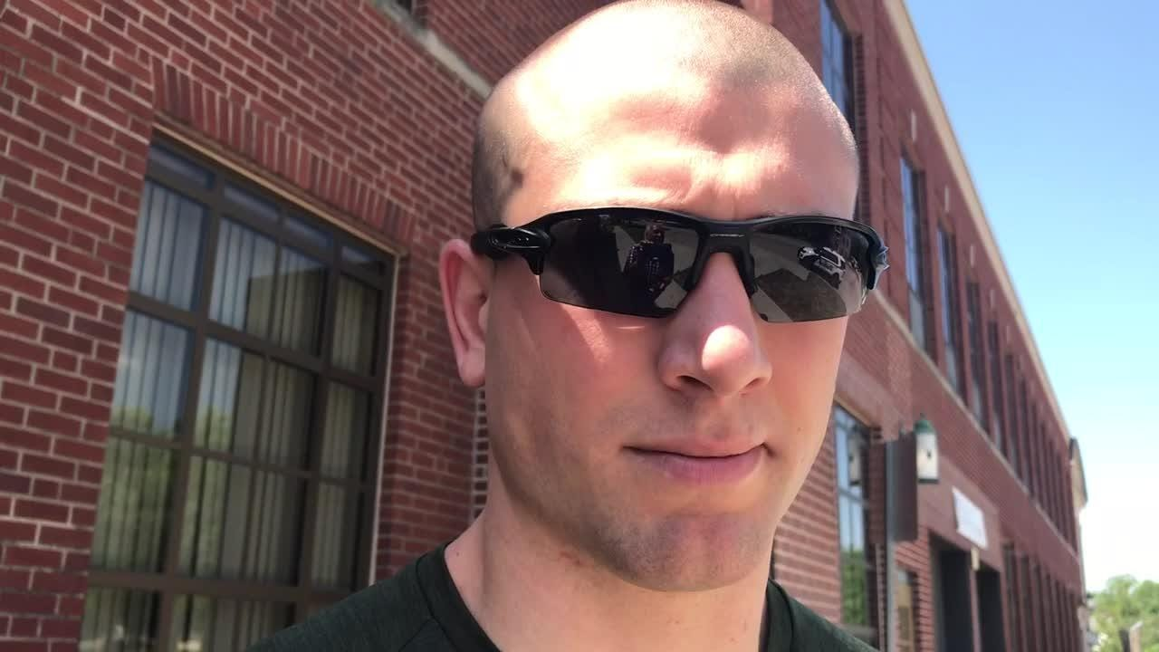 Peterson: Ex-Iowa State football player now patrols the streets he once roamed