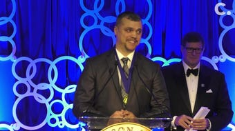 Cincinnati's Tim Arnold, recipient of the  Jacqueline Kennedy Onassis Award for Outstanding Public Service Benefiting Local Communities.