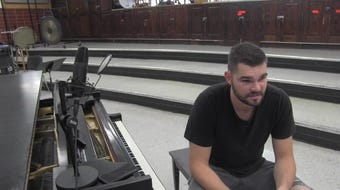 Former Kentucky player Isaac Humphries knew his charity concert needed to be held in Lexington even though he left UK early.