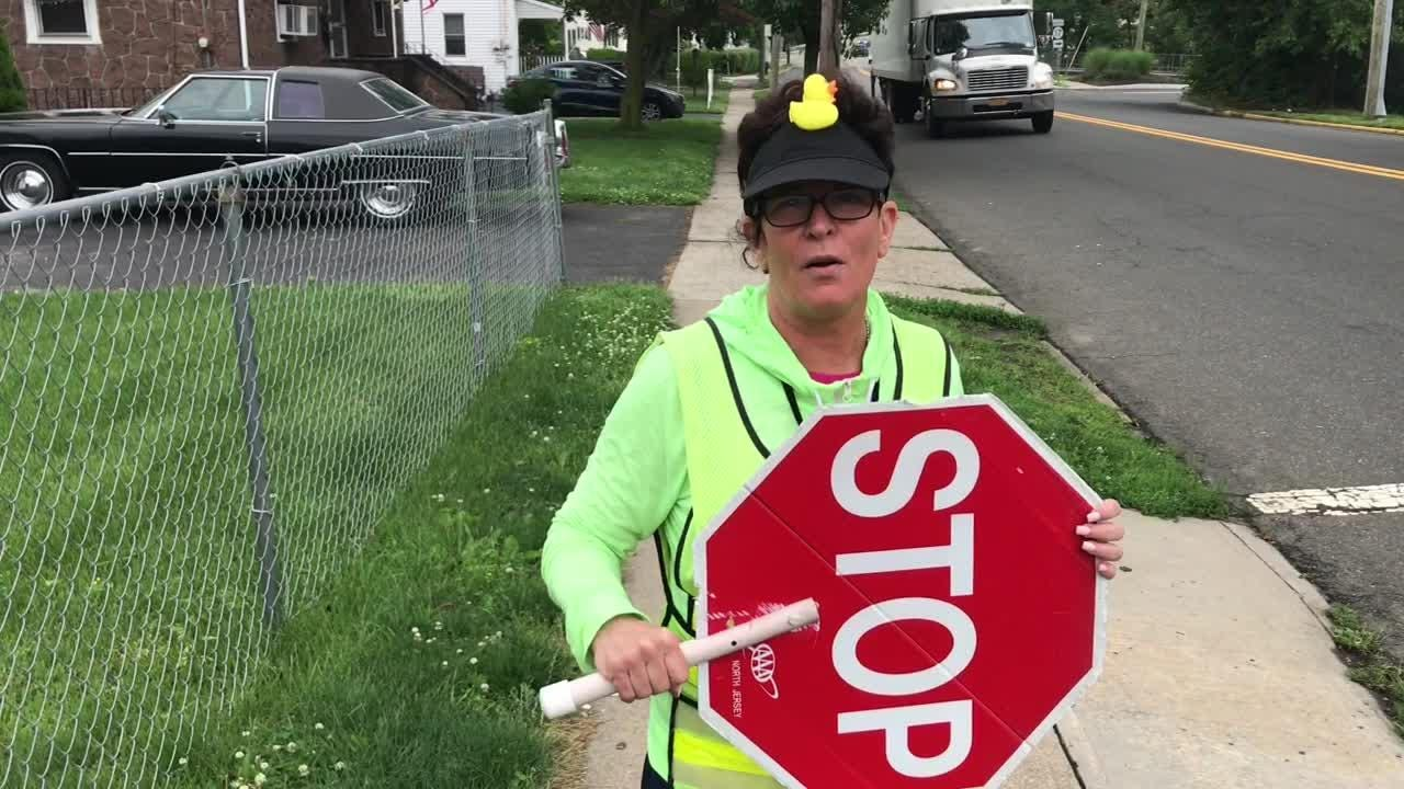 Crossing guard buys end of year feast for students