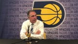 Pacers president Kevin Prtichard says he couldn't believe Goga Bitadze was available at 18th. 'We had him really high on our board.'