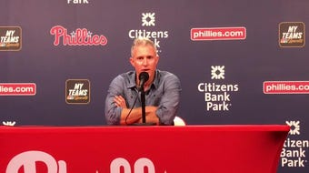 Chase Utley reflects on his Phillies' career before his retirement ceremony on Friday night.