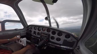 Watch Rich Jones lead Raji Bharti in a formation training flight as part of the NW Formation Flying Clinic.