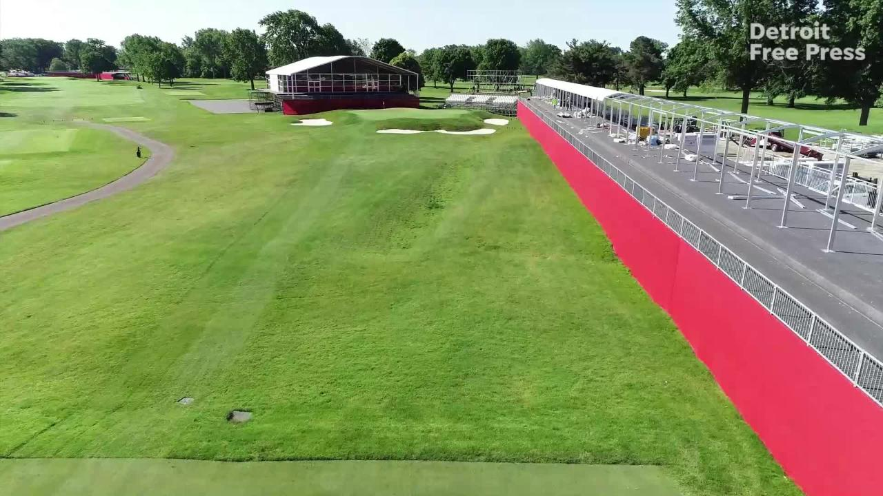 Detroit Golf Club's Area 313 for Rocket Mortgage Classic: Holes 14, 15 and  16